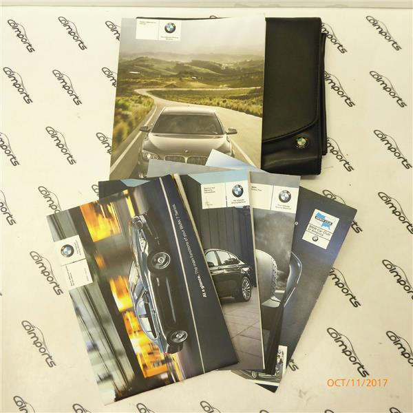 10 11 Bmw 750i 740i 760li Alpina Owners Manual Case Oem 01402604991