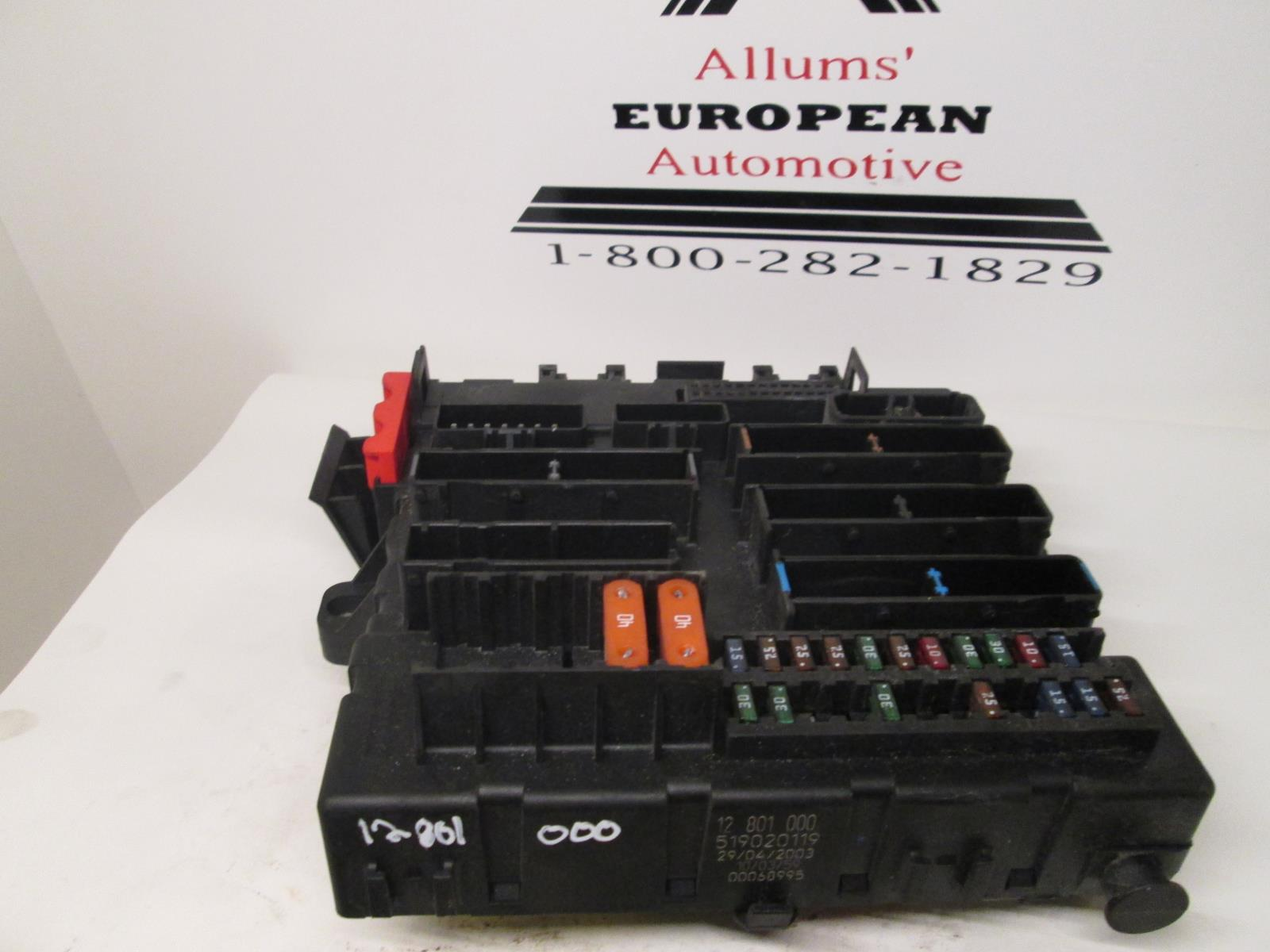 Saab 9 3 Rear Fuse Box 12801000 Allums Import 2003
