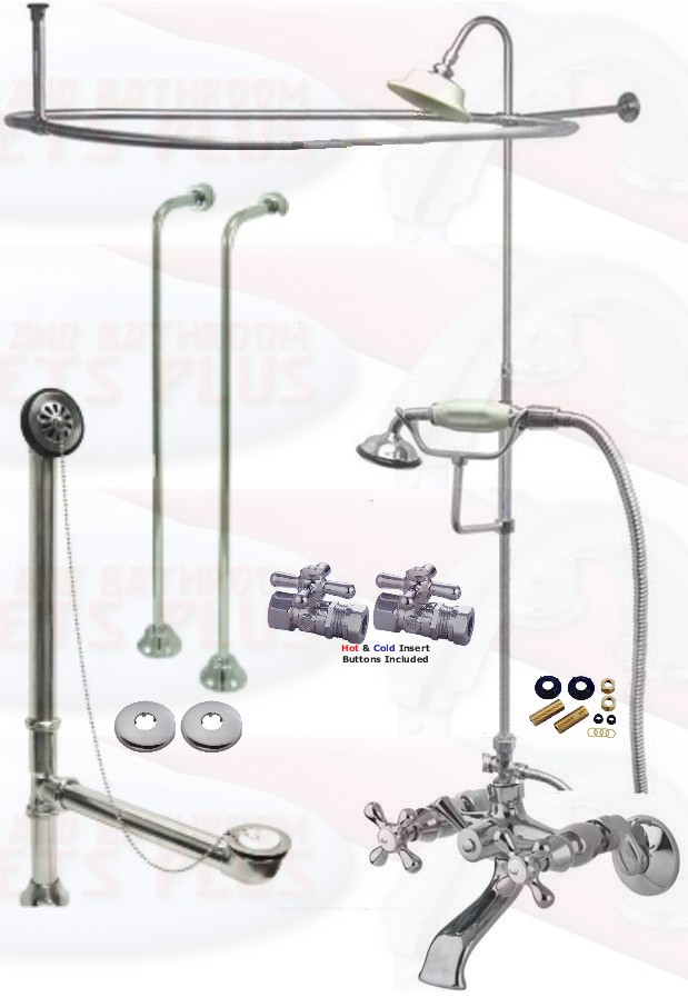 Clawfoot Tub Faucet Packages Kitchen Bathroom Faucets Plus