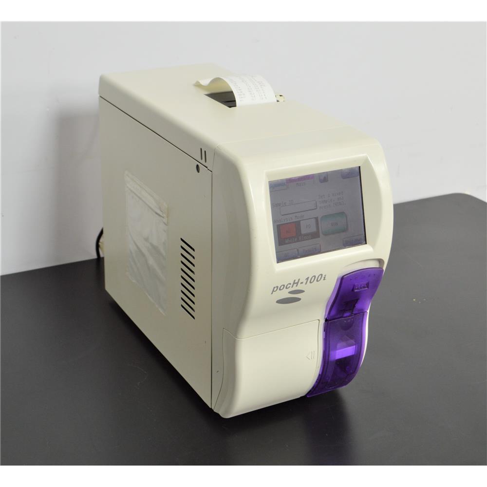 Sysmex pocH-100i Automated Hematology Analyzer CBC Blood Test WBC RBC PLT