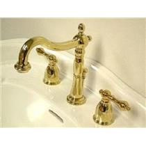 KINGSTON BATHROOM SINK FAUCET POLISHED BRASS KB1972AL