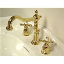 Kingston Bathroom Sink Faucet Polished Brass KB1972AX