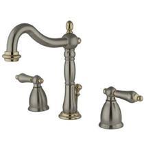 Kingston Bathroom Sink Faucet Satin Nickel KB1979AL