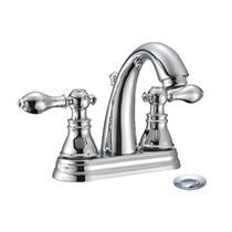 "Fauceture FS5611ACL 4"" Centerset Faucet - Polished Chrome"