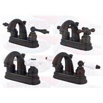 "Kingston Brass KB5615 4"" Centerset Bathroom Sink Faucet - Oil Rubbed Bronze - Your Choice"
