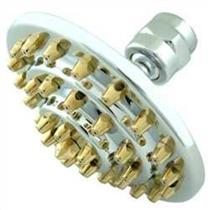 "Kingston Brass Model# K204A4 Milano 4"" Diameter, Three Tier Brass Shower Head - Polished Chrome With"