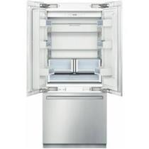 """Bosch 36"""" Super cool / Freeze Built-in SS French Door Refrigerator B36BT830NS"""