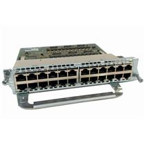 Cisco NME-X-23ES-1G-P 23-Port 10/100 PoE Ethernet Switch Plug-In Module 1 Gig