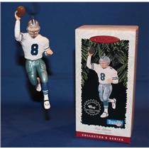 Hallmark Series Ornament 1996 Football Legends #2 - Troy Aikman - #QXI5021-DB