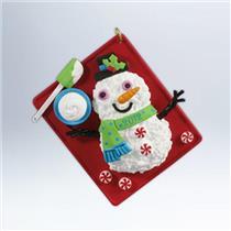 Hallmark Series Ornament 2012 Season's Treatings #4 - Baking Sheet - #QX8074