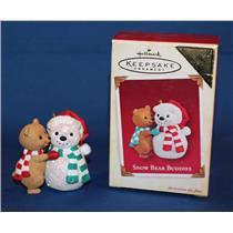 Hallmark Colorway / Repaint Ornament 2005 Snow Bear Buddies - #QXG4432C