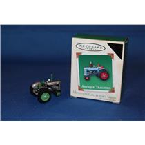 Hallmark Colorway / Repaint Miniature Ornament 2003 Antique Tractors - #QXM4889C