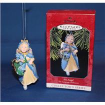 Hallmark Series Ornament 1998 Language of Flowers #3 - Iris Angel - #QX6156