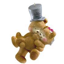 Carlton American Greetings 2011 First Christmas Together - Teddy Bears #AGOR246Z