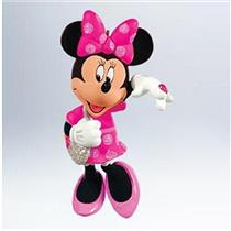 Hallmark Ornament 2011 Sweetheart Minnie Mouse - Disney's Minnie Mouse #QXD1687