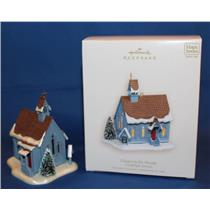 Hallmark Ornament 2007 Candlelight Services #10 - Chapel in the Woods QX7029-SDB