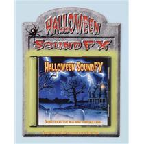 Halloween Horror Sound FX CD Halloween Scary Music Prop