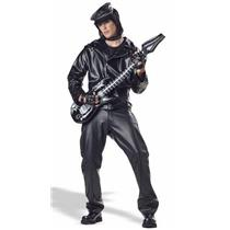 Heavy Metal Rocker Adult Costume XL 44-46