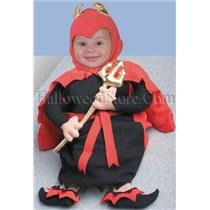 Devil Baby Costume Bunting 0-6 months