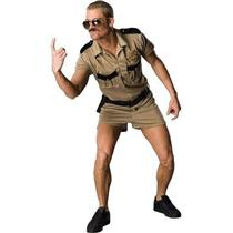 Reno 911 Lt Dangle Adult Cop Police Costume