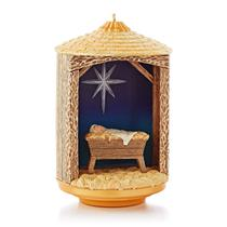 Hallmark Magic Ornament  2013 The Night the Baby was Born - #QXG1535-SDB