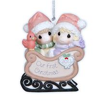 Precious Moments Ornament 2012 Our First Christmas Together - #121004