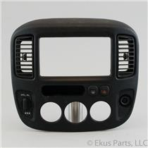 01-07 Escape 05-07 Mariner Radio Climate Dash Trim Bezel with Vents 4WD Switch