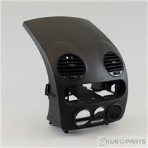 1998-2004 Volkswagen Beetle Radio Climate Combo Trim Bezel with Vents