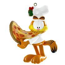 Carlton Heirloom Ornament 2014 Garfield Eating Pizza - #CXOR054F
