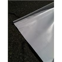 "A&E DOMETIC SLIDE TOPPER REPLACEMENT FABRIC WHITE VINYL Lengths from 149""-192"""