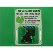 Dinosaur 12VDC TDR Time Delay Relay 314437000 31017 RV Furnace
