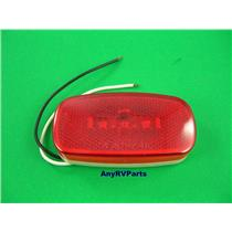 "Red 4 "" 3 LED RV Motorhome Trailer Truck Clearance Marker Light J625R"