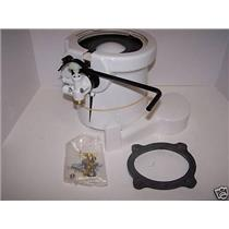 Dometic Sealand 385310120 Toilet Base Assembly White 310120