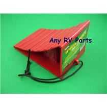 Trailer RV Red Wheel Chock by Valterra A10-0908