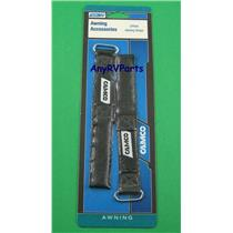 Camco 42503 RV Travel Trailer Motorhome Awning Arm Straps 2pk 12""
