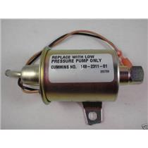 Genuine Onan KY Spec A-H Generator Fuel Pump 149-2311-01