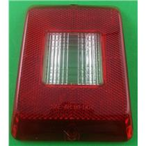 Bargman 34-84-700 Replacement Lens Red With Back Up