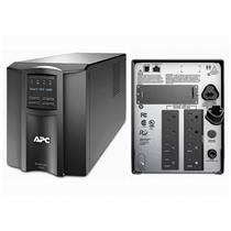 APC SMT1000 SMART-UPS POWER BACKUP, LCD 1000VA 700W 120V TOWER, NEW BATTERIS