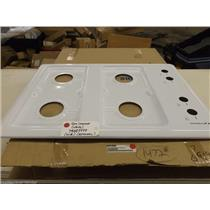 Admiral Maytag Stove 74009999 Gas Cooktop (white) NEW IN BOX