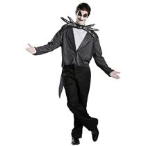 Nightmare before Christmas Jack Skellington Classic Adult Costume Size M 38-40