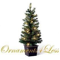 2008 Pre-Lit Miniature Christmas Tree - LPR3424