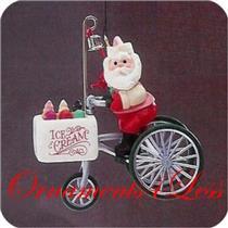 1986 Here Comes Santa #8 - Kringle's Kool Treats - QX4043