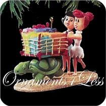 1995 Betty and Wilma - The Flintstones - QX5417 - SDB