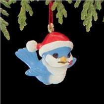 1989 Happy Bluebird - Miniature Ornament - QXM5662 - DB