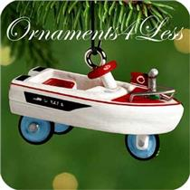 2000 Miniature Kiddie Car Classics #6 - 1968 Murray Jolly Roger Flagship - QXM5944 - NO BOX