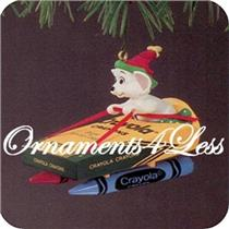 1990 Crayola #2 - Bright Moving Colors - QX4586