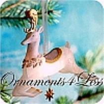 2010 Glimmering Reindeer - Wonder and Light Magic - QXG3616