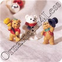 1997 Snowbear Season - Merry Miniatures - Set of 3 - SDB