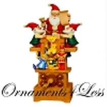 2011 Santa's Jolly Workshop - Magic Reveal Tabletop - QFM3907 - SDB