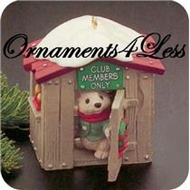 1988 Our Clubhouse - Club Ornament - SDB